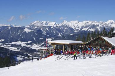 Monte Popolo in Eben im Pongau, Skiverbund Ski Amadé im Salzburger Land