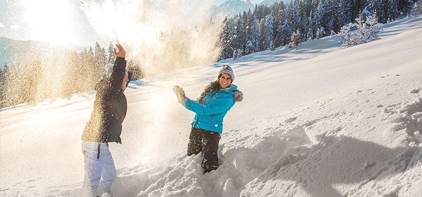Winterurlaub in Eben - Ferienhaus Hollinger